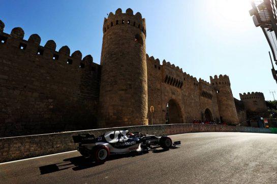 Yuki Tsunoda (JPN) AlphaTauri AT02. 05.06.2021. Formula 1 World Championship, Rd 6, Azerbaijan Grand Prix, Baku Street Circuit, Azerbaijan, Qualifying Day. - www.xpbimages.com, EMail: requests@xpbimages.com © Copyright: Moy / XPB Images