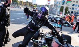 Hamilton admits 'We definitely weren't expecting that!'