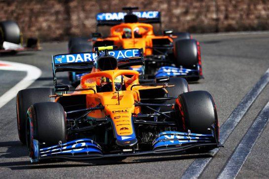 Lando Norris (GBR) McLaren MCL35M. 06.06.2021. Formula 1 World Championship, Rd 6, Azerbaijan Grand Prix, Baku Street Circuit, Azerbaijan, Race Day. - www.xpbimages.com, EMail: requests@xpbimages.com © Copyright: Moy / XPB Images