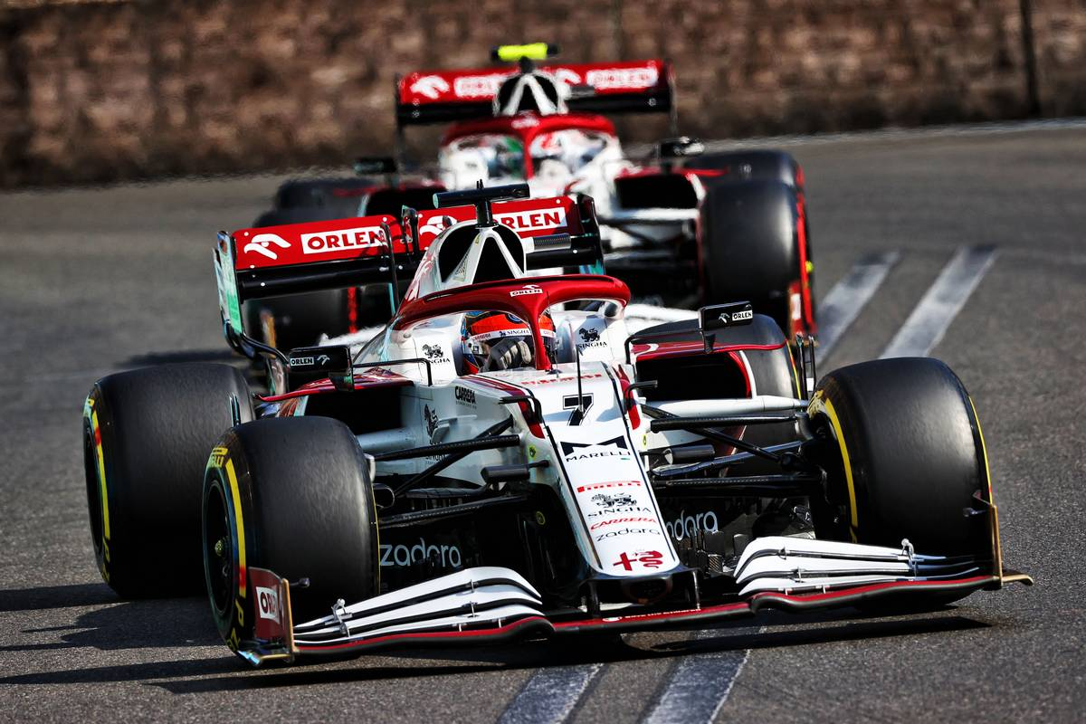 Kimi Raikkonen (FIN) Alfa Romeo Racing C41. 06.06.2021. Formula 1 World Championship, Rd 6, Azerbaijan Grand Prix, Baku
