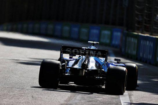 Nicholas Latifi (CDN) Williams Racing FW43B. 06.06.2021. Formula 1 World Championship, Rd 6, Azerbaijan Grand Prix, Baku Street Circuit, Azerbaijan, Race Day. - www.xpbimages.com, EMail: requests@xpbimages.com © Copyright: Moy / XPB Images