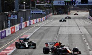 Sergio Perez (MEX) Red Bull Racing RB16B. 06.06.2021. Formula 1 World Championship, Rd 6, Azerbaijan Grand Prix, Baku