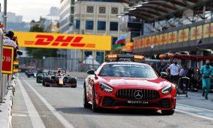 Leclerc: Late safety car deployment in Baku 'a joke'