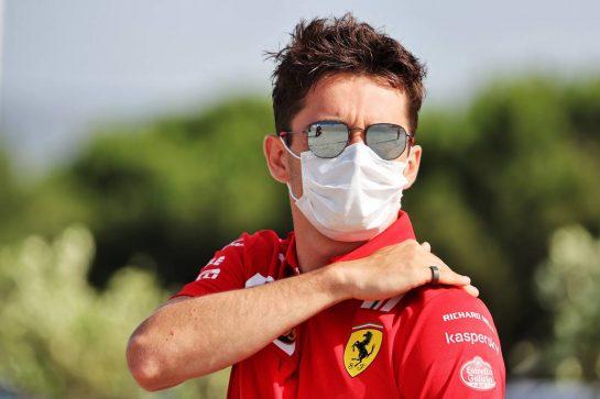 Charles Leclerc (MON) Ferrari. 18.06.2021. Formula 1 World Championship, Rd 7, French Grand Prix, Paul Ricard, France, Practice Day. - www.xpbimages.com, EMail: requests@xpbimages.com © Copyright: Batchelor / XPB Images