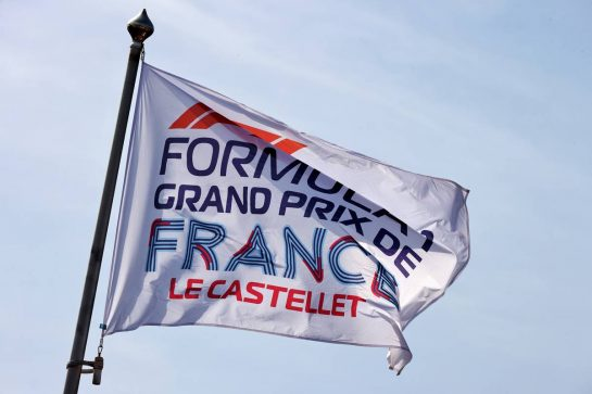 French Grand Prix flag. 18.06.2021. Formula 1 World Championship, Rd 7, French Grand Prix, Paul Ricard, France, Practice Day. - www.xpbimages.com, EMail: requests@xpbimages.com © Copyright: Batchelor / XPB Images