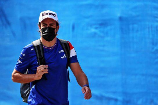 Fernando Alonso (ESP) Alpine F1 Team. 18.06.2021. Formula 1 World Championship, Rd 7, French Grand Prix, Paul Ricard, France, Practice Day. - www.xpbimages.com, EMail: requests@xpbimages.com © Copyright: Batchelor / XPB Images