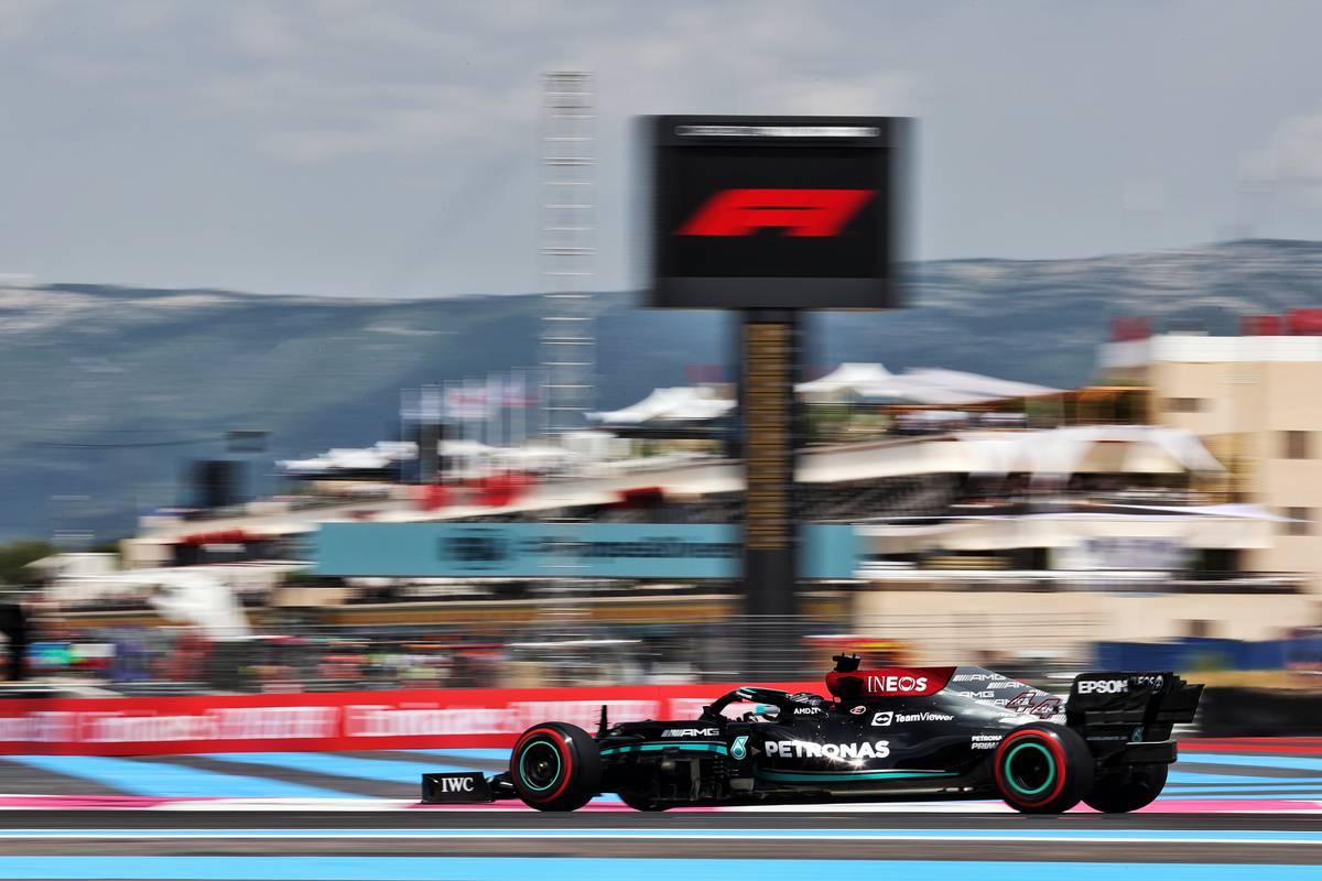 Lewis Hamilton (GBR) Mercedes AMG F1 W12. 18.06.2021. Formula 1 World Championship, Rd 7, French Grand Prix, Paul Ricard