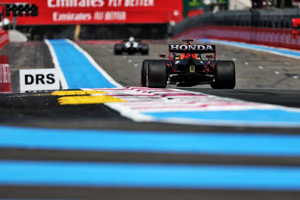2021 French Grand Prix Free Practice 2 - Results