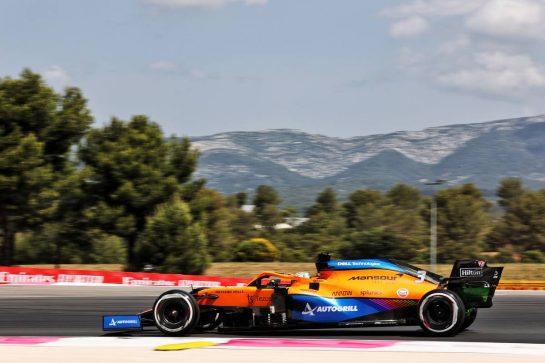 Daniel Ricciardo (AUS) McLaren MCL35M. 18.06.2021. Formula 1 World Championship, Rd 7, French Grand Prix, Paul Ricard, France, Practice Day. - www.xpbimages.com, EMail: requests@xpbimages.com © Copyright: Batchelor / XPB Images