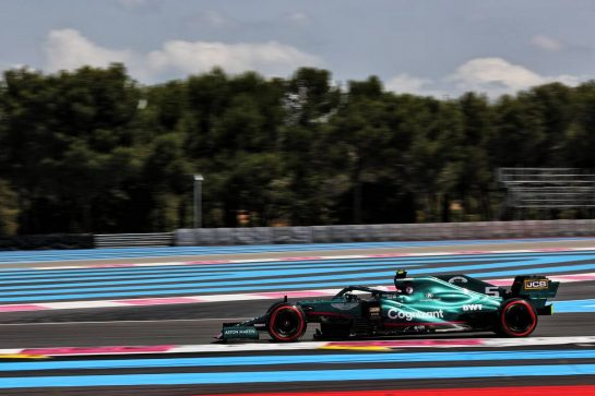 Sebastian Vettel (GER) Aston Martin F1 Team AMR21. 18.06.2021. Formula 1 World Championship, Rd 7, French Grand Prix, Paul Ricard, France, Practice Day. - www.xpbimages.com, EMail: requests@xpbimages.com © Copyright: Batchelor / XPB Images