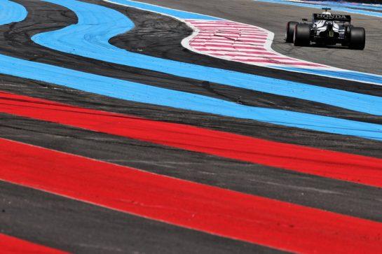 Yuki Tsunoda (JPN) AlphaTauri AT02. 18.06.2021. Formula 1 World Championship, Rd 7, French Grand Prix, Paul Ricard, France, Practice Day. - www.xpbimages.com, EMail: requests@xpbimages.com © Copyright: Batchelor / XPB Images