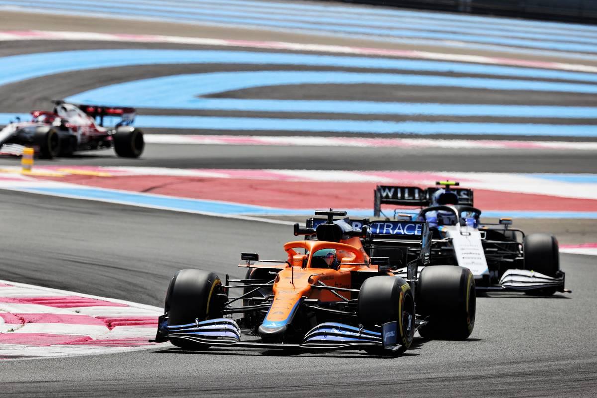 Daniel Ricciardo (AUS) McLaren MCL35M. 18.06.2021. Formula 1 World Championship, Rd 7, French Grand Prix, Paul Ricard