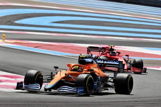 Lando Norris (GBR) McLaren MCL35M. 18.06.2021. Formula 1 World Championship, Rd 7, French Grand Prix, Paul Ricard, France, Practice Day. - www.xpbimages.com, EMail: requests@xpbimages.com © Copyright: Batchelor / XPB Images