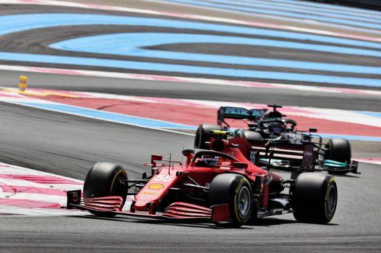 Carlos Sainz Jr (ESP) Ferrari SF-21. 18.06.2021. Formula 1 World Championship, Rd 7, French Grand Prix, Paul Ricard, France, Practice Day. - www.xpbimages.com, EMail: requests@xpbimages.com © Copyright: Batchelor / XPB Images