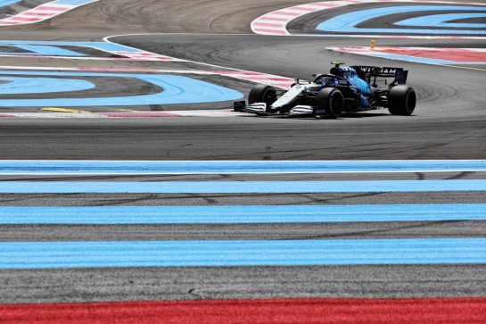 Nicholas Latifi (CDN) Williams Racing FW43B. 18.06.2021. Formula 1 World Championship, Rd 7, French Grand Prix, Paul Ricard, France, Practice Day. - www.xpbimages.com, EMail: requests@xpbimages.com © Copyright: Batchelor / XPB Images