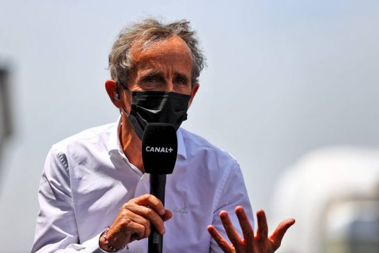 Alain Prost (FRA) Alpine F1 Team Non-Executive Director. 18.06.2021. Formula 1 World Championship, Rd 7, French Grand Prix, Paul Ricard, France, Practice Day. - www.xpbimages.com, EMail: requests@xpbimages.com © Copyright: Moy / XPB Images