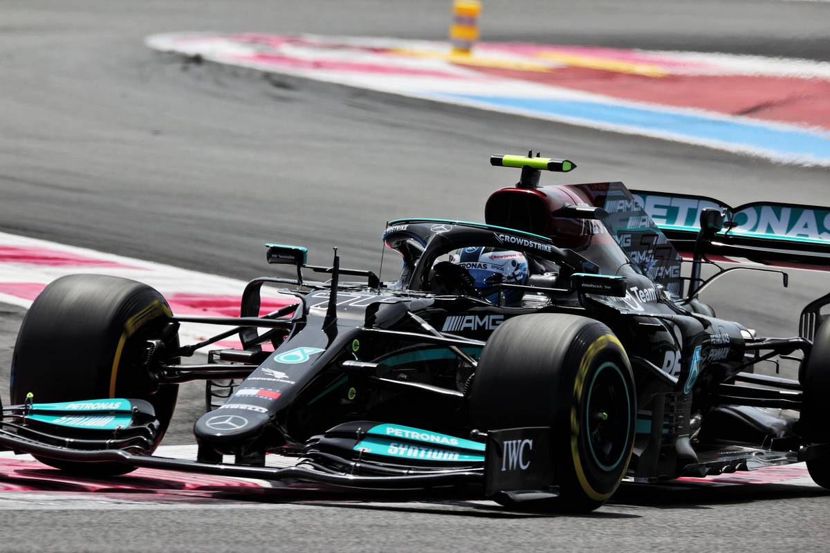 Bottas feeling 'a lot better' after chassis swap