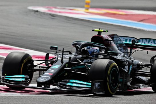 Valtteri Bottas (FIN) Mercedes AMG F1 W12. 18.06.2021. Formula 1 World Championship, Rd 7, French Grand Prix, Paul Ricard, France, Practice Day. - www.xpbimages.com, EMail: requests@xpbimages.com © Copyright: Batchelor / XPB Images