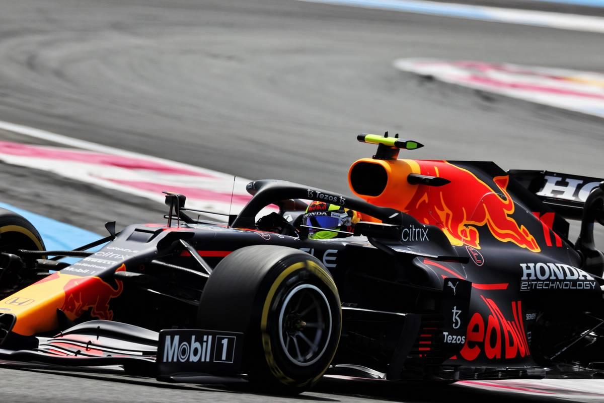 Sergio Perez (MEX) Red Bull Racing RB16B. 18.06.2021. Formula 1 World Championship, Rd 7, French Grand Prix, Paul Ricard