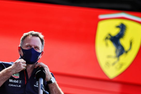 Christian Horner (GBR) Red Bull Racing Team Principal. 18.06.2021. Formula 1 World Championship, Rd 7, French Grand Prix, Paul Ricard, France, Practice Day. - www.xpbimages.com, EMail: requests@xpbimages.com © Copyright: Moy / XPB Images