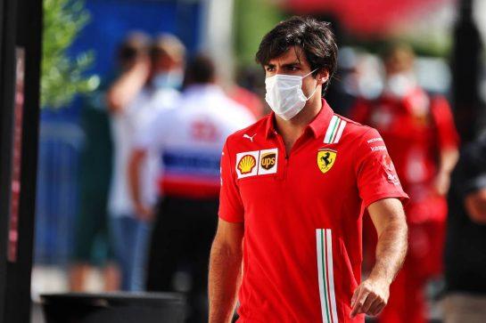 Carlos Sainz Jr (ESP) Ferrari. 19.06.2021. Formula 1 World Championship, Rd 7, French Grand Prix, Paul Ricard, France, Qualifying Day. - www.xpbimages.com, EMail: requests@xpbimages.com © Copyright: Moy / XPB Images