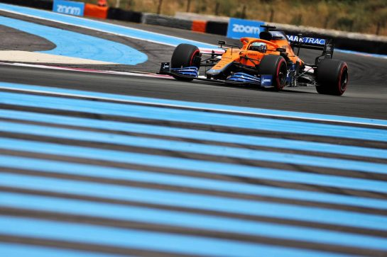 Daniel Ricciardo (AUS) McLaren MCL35M. 19.06.2021. Formula 1 World Championship, Rd 7, French Grand Prix, Paul Ricard, France, Qualifying Day. - www.xpbimages.com, EMail: requests@xpbimages.com © Copyright: Batchelor / XPB Images