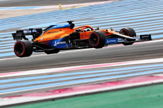 Daniel Ricciardo (AUS) McLaren MCL35M. 19.06.2021. Formula 1 World Championship, Rd 7, French Grand Prix, Paul Ricard, France, Qualifying Day. - www.xpbimages.com, EMail: requests@xpbimages.com © Copyright: Charniaux / XPB Images