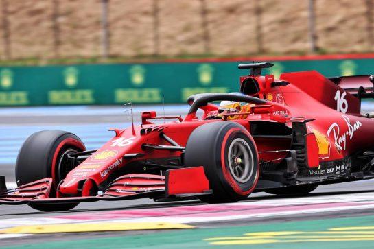 Charles Leclerc (MON) Ferrari SF-21. 19.06.2021. Formula 1 World Championship, Rd 7, French Grand Prix, Paul Ricard, France, Qualifying Day. - www.xpbimages.com, EMail: requests@xpbimages.com © Copyright: Charniaux / XPB Images
