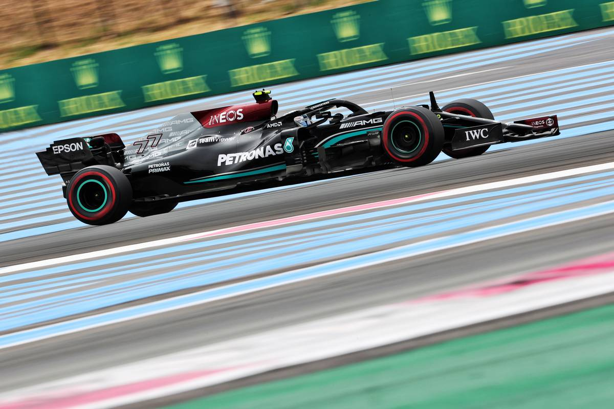 Valtteri Bottas (FIN) Mercedes AMG F1 W12. 19.06.2021. Formula 1 World Championship, Rd 7, French Grand Prix, Paul Ricard