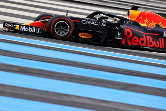 Max Verstappen (NLD) Red Bull Racing RB16B. 19.06.2021. Formula 1 World Championship, Rd 7, French Grand Prix, Paul Ricard, France, Qualifying Day. - www.xpbimages.com, EMail: requests@xpbimages.com © Copyright: Batchelor / XPB Images