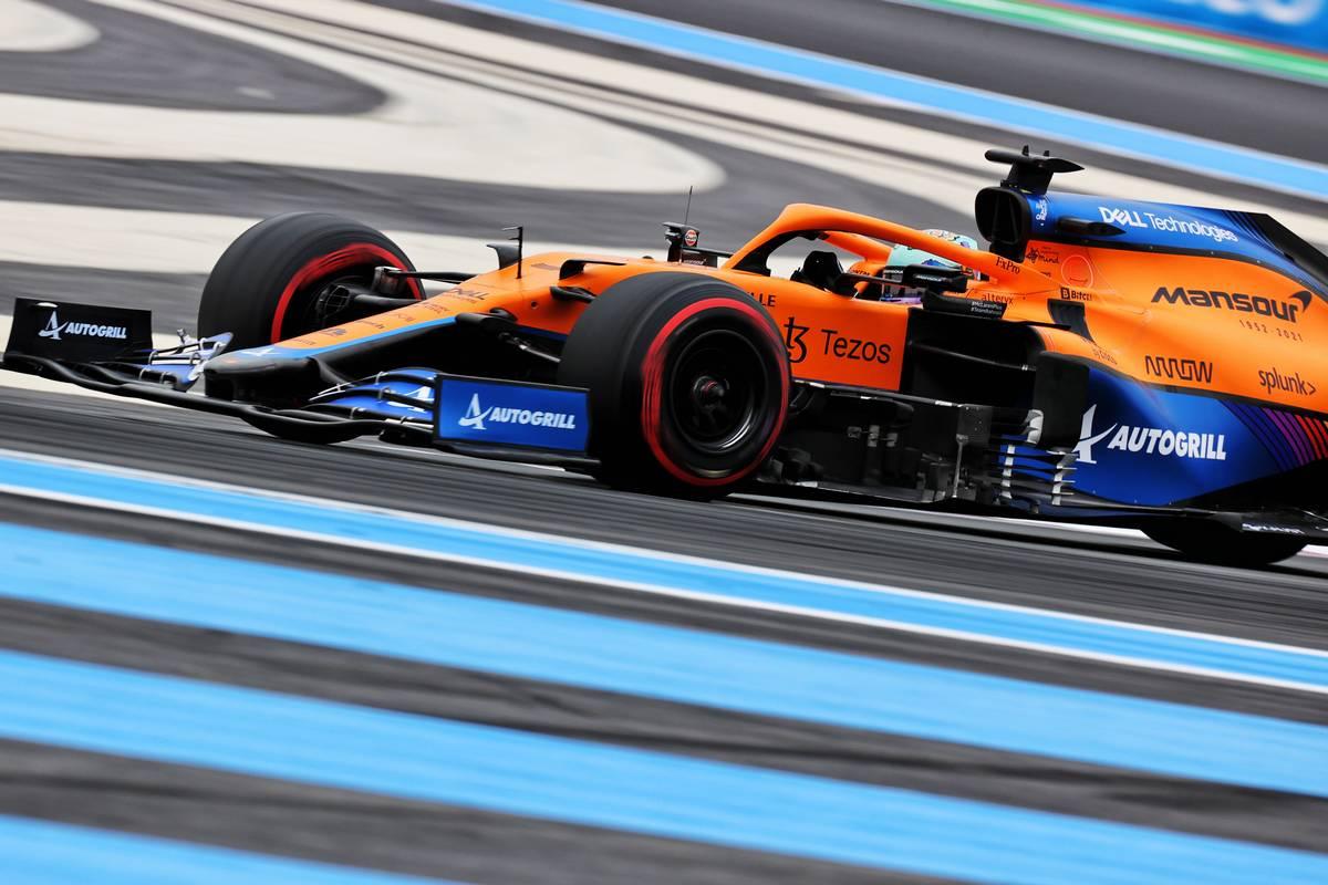 Daniel Ricciardo (AUS) McLaren MCL35M. 19.06.2021. Formula 1 World Championship, Rd 7, French Grand Prix, Paul Ricard
