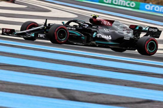 Valtteri Bottas (FIN) Mercedes AMG F1 W12. 19.06.2021. Formula 1 World Championship, Rd 7, French Grand Prix, Paul Ricard, France, Qualifying Day. - www.xpbimages.com, EMail: requests@xpbimages.com © Copyright: Batchelor / XPB Images