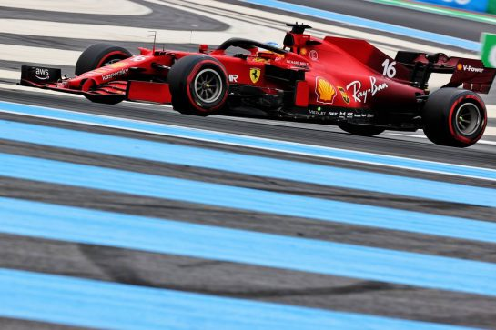 Charles Leclerc (MON) Ferrari SF-21. 19.06.2021. Formula 1 World Championship, Rd 7, French Grand Prix, Paul Ricard, France, Qualifying Day. - www.xpbimages.com, EMail: requests@xpbimages.com © Copyright: Batchelor / XPB Images