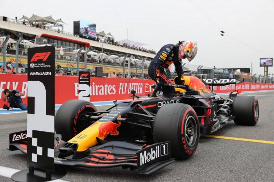 Pole for Max Verstappen (NLD) Red Bull Racing.19.06.2021. Formula 1 World Championship, Rd 7, French Grand Prix, Paul Ricard, France, Qualifying Day.- www.xpbimages.com, EMail: requests@xpbimages.com © Copyright: Batchelor / XPB Images