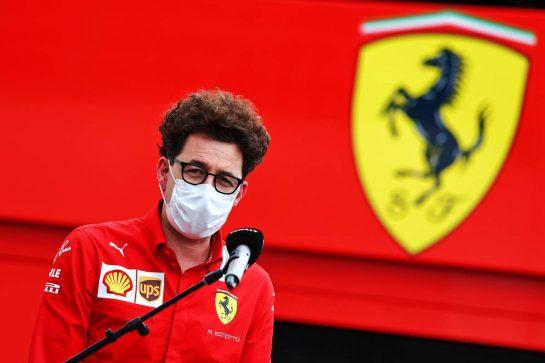 Mattia Binotto (ITA) Ferrari Team Principal. 19.06.2021. Formula 1 World Championship, Rd 7, French Grand Prix, Paul Ricard, France, Qualifying Day. - www.xpbimages.com, EMail: requests@xpbimages.com © Copyright: Moy / XPB Images