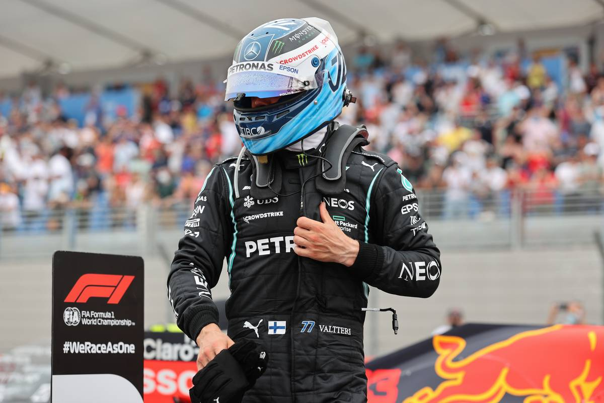 Bottas 'definitely fighting for the win' in French GP