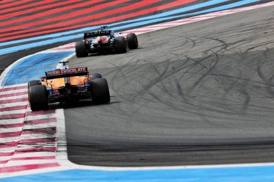 Daniel Ricciardo (AUS) McLaren MCL35M. 20.06.2021. Formula 1 World Championship, Rd 7, French Grand Prix, Paul Ricard, France, Race Day. - www.xpbimages.com, EMail: requests@xpbimages.com © Copyright: Batchelor / XPB Images