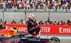 Race winner Max Verstappen (NLD) Red Bull Racing RB16B celebrates in parc ferme. 20.06.2021. Formula 1 World Championship, Rd 7, French Grand Prix, Paul Ricard