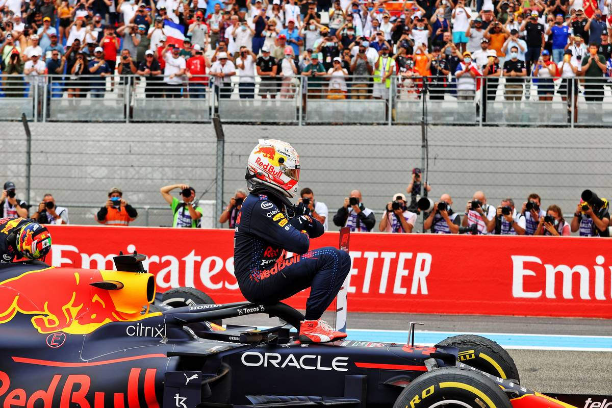 'It'll be like this for the rest of the season,' predicts Verstappen