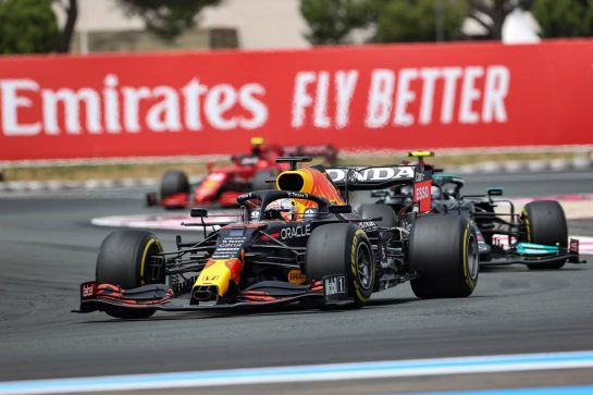 Max Verstappen (NLD), Red Bull Racing 20.06.2021. Formula 1 World Championship, Rd 7, French Grand Prix, Paul Ricard, France, Race Day.- www.xpbimages.com, EMail: requests@xpbimages.com © Copyright: Charniaux / XPB Images