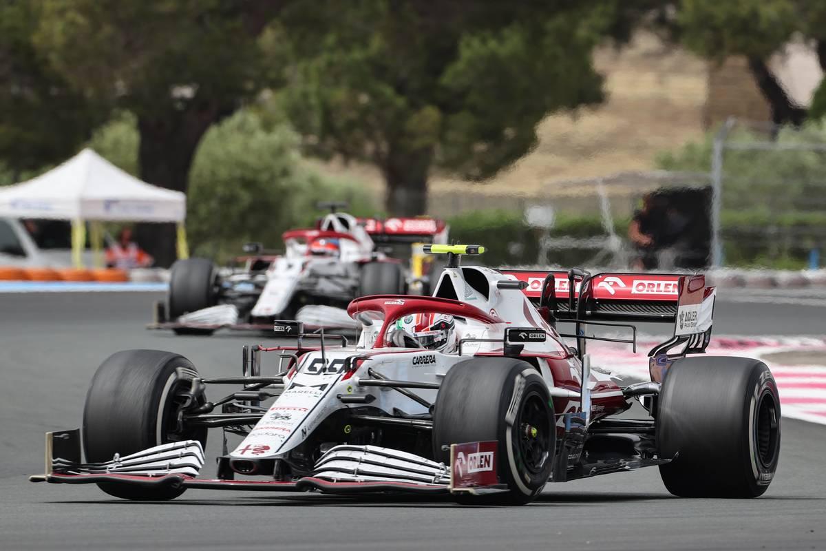 Antonio Giovinazzi (ITA), Alfa Romeo Racing 20.06.2021. Formula 1 World Championship, Rd 7, French Grand Prix, Paul Ricard