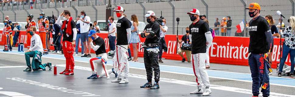 Drivers on the grid. 20.06.2021. Formula 1 World Championship, Rd 7, French Grand Prix, Paul Ricard