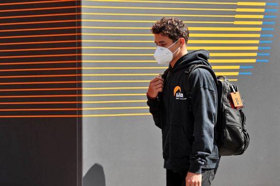 Lando Norris (GBR) McLaren. 24.06.2021. Formula 1 World Championship, Rd 8, Steiermark Grand Prix, Spielberg, Austria, Preparation Day. - www.xpbimages.com, EMail: requests@xpbimages.com © Copyright: Moy / XPB Images