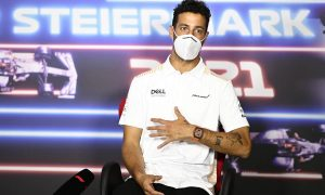 Ricciardo credits three schnitzel diet for Friday pace