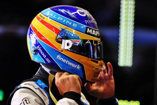 Fernando Alonso (ESP) Alpine F1 Team. 25.06.2021. Formula 1 World Championship, Rd 8, Steiermark Grand Prix, Spielberg, Austria, Practice Day. - www.xpbimages.com, EMail: requests@xpbimages.com © Copyright: Moy / XPB Images