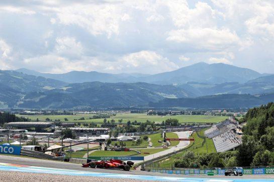 Carlos Sainz Jr (ESP) Ferrari SF-21. 25.06.2021. Formula 1 World Championship, Rd 8, Steiermark Grand Prix, Spielberg, Austria, Practice Day. - www.xpbimages.com, EMail: requests@xpbimages.com © Copyright: Batchelor / XPB Images