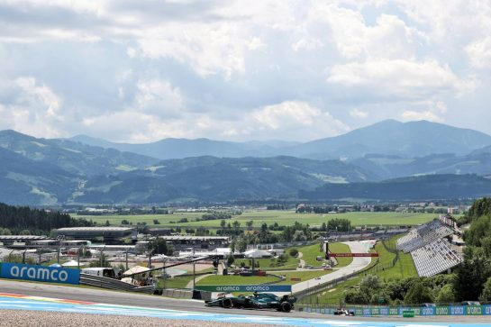 Lance Stroll (CDN) Aston Martin F1 Team AMR21. 25.06.2021. Formula 1 World Championship, Rd 8, Steiermark Grand Prix, Spielberg, Austria, Practice Day. - www.xpbimages.com, EMail: requests@xpbimages.com © Copyright: Batchelor / XPB Images