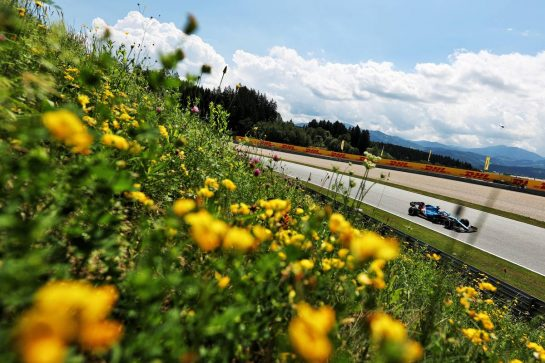 Fernando Alonso (ESP) Alpine F1 Team A521. 25.06.2021. Formula 1 World Championship, Rd 8, Steiermark Grand Prix, Spielberg, Austria, Practice Day. - www.xpbimages.com, EMail: requests@xpbimages.com © Copyright: Charniaux / XPB Images