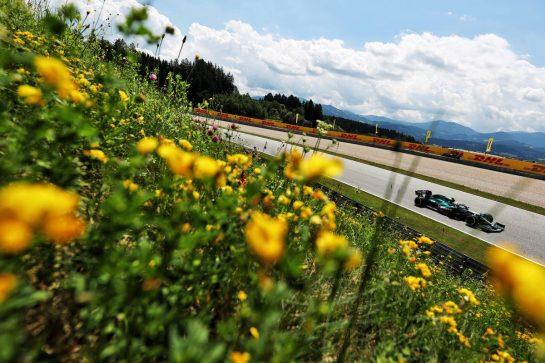 Sebastian Vettel (GER) Aston Martin F1 Team AMR21. 25.06.2021. Formula 1 World Championship, Rd 8, Steiermark Grand Prix, Spielberg, Austria, Practice Day. - www.xpbimages.com, EMail: requests@xpbimages.com © Copyright: Charniaux / XPB Images
