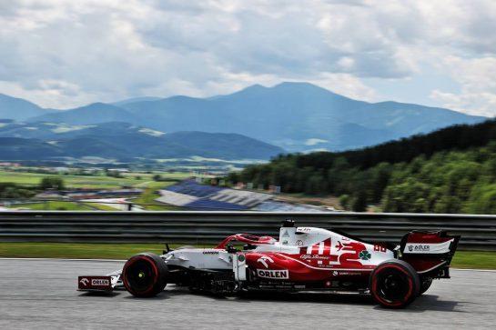 Robert Kubica (POL) Alfa Romeo Racing C39 Reserve Driver. 25.06.2021. Formula 1 World Championship, Rd 8, Steiermark Grand Prix, Spielberg, Austria, Practice Day. - www.xpbimages.com, EMail: requests@xpbimages.com © Copyright: Batchelor / XPB Images